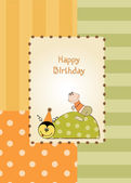 Přání k narozeninám — Stock vektor
