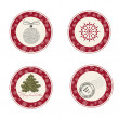 Christmas labels — Stock Vector #37926533