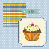 生日蛋糕 — 图库矢量图片