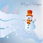 Snowman — Stock Vector #38505475