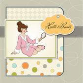 Lady spa — Vecteur