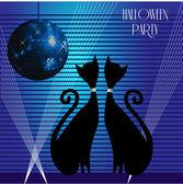 партия кошки — Cтоковый вектор