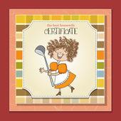 Best wifehouse certificate — Vecteur
