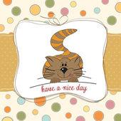 Cute kitty — Stock Vector