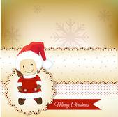 Vánoční blahopřání — Stock vektor