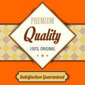 Premium Quality poster — Stockvektor