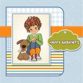 Happy moments — Stock Vector