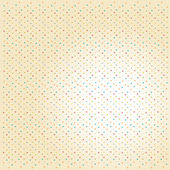 Funny background with dots — Stock Vector