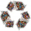 Recycled symbol — Stock Photo #12553818