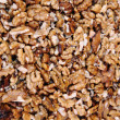 Stock Photo: Fresh walnuts background