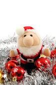 Santa claus isolated — Stock Photo