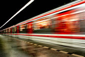 Subway in the prague (transportation background) — Stock Photo