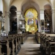 Stock Photo: Old church interior