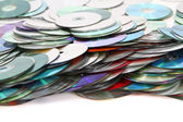 CD and DVD technology background — Stock Photo