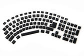 Ergonomic keyboard — Stock Photo