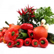 Vegetable (chili, tomatoes, pumpkin etc.) — Stock Photo