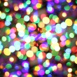 Stock Photo: Abstract background from christmas lights