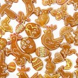 Stockfoto: Easter gingerbread cookies - czech tradition