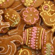 Foto de Stock  : Easter gingerbread cookies - czech tradition