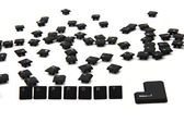 Word recycle from keyboard keys — Stock Photo