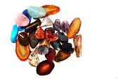 Natural color gems — Stock Photo