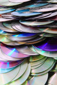 CD and DVD data background — Stock Photo