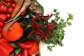 Vegetable and chili  — Stock Photo