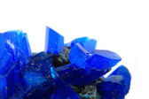 Blue vitriol mineral isolated  — Stock Photo