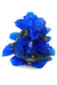 分離された青硫酸塩鉱物 — ストック写真