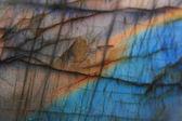 Labradorite natural mineral background — Stock Photo