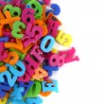 Color plastic letters — Stock Photo #42546309
