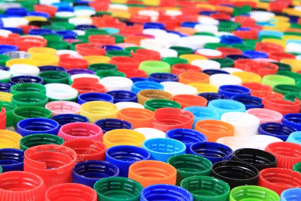 Color de las tapas de pl stico de botellas de pet fotos for Tapas de plastico