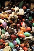 Natural color gem background — Stock Photo