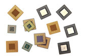 Microprocessors — Stock Photo