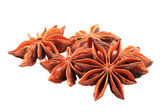 Anise star (spice) isolated  — Stockfoto