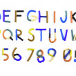 Plasticine alphabet — Stock Photo #51360687