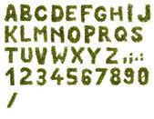 Алфавит кофе — Стоковое фото