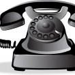 Old telephone — Stock Vector #10411333