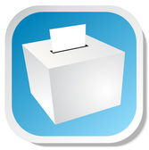 Ballot box — Stock Vector