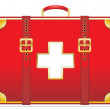 First aid kit — Stock Vector #33741587