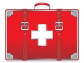 First aid kit — Stockvektor