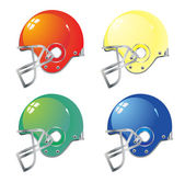 Football helmet — Stock Vector