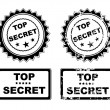 Top secret — Stock Vector