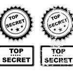 Top secret — Stock Vector