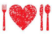 Heart health concept — Stock Vector