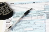 IRS Federal Income Tax Forms — Stock Photo