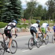 USA PRO Cycling Challenge Stage 5 cyclists race — Stock Photo #23877567