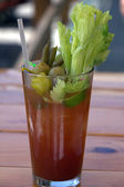 Bloody Mary Drink — Stock Photo