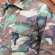 uns Soldat uniform — Stockfoto