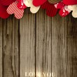 Valentine Day background with free space for your text - Image vectorielle